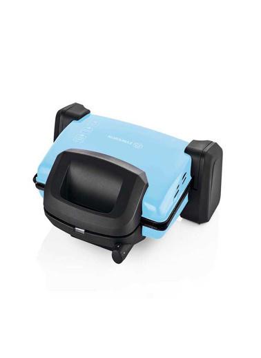 Korkmaz Kompakto Mavi/Siyah Small Tost Makinesi Mavi